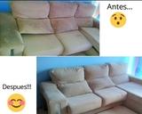 Limpieza de sofas, colchones, tapicerías - foto