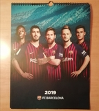 Calendiario 2019 FC Barcelona - foto