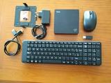 Mini PC con teclado y ratón inalámbricos - foto