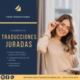 Traductor jurado - recogida/envío gratis - foto