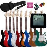 Set guitarra electrica amplificador - foto