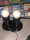 Playstation 3 + juegos + move + cámara - foto