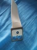 Cinturon blanco unisex - foto