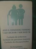 SEÑOR CUIDADOR DE PERSONAS MAYORES - foto