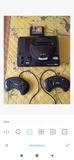 Sega megadrive +2 mandos +1juego - foto