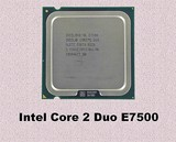 5 Procesadores Intel Core 2 Duo E7500 - foto