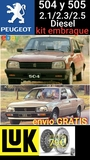 Peugeot 504/505  diesel kit embrague - foto