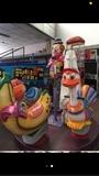 plataforma infantil recreativa - foto