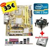 PACK 775 P5KPL-VM + E6550  2.33GHZ W10 - foto