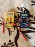 multímetros tester - foto