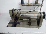 Maquina doble aguja singer - foto