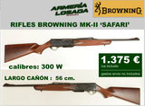 Rifle browning cal. 300 mk-ii safari - foto