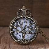 Reloj de bolsillo árbol de la Vida - foto