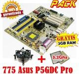 Pack p5gdc pro + 3.2ghz +2gb ram w10 - foto