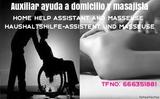 AUXILIAR AYUDA A DOMICILIO Y MASAJISTA - foto