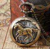 Reloj de bolsillo Caballo - foto