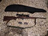 rifle cerrojo calibre 22 - foto