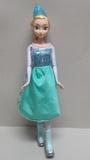 Muñeca Elsa Patinadora Frozen Disney - foto