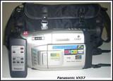 Panasonic vx 57 vhs - foto