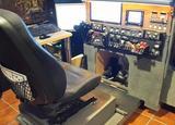 cabina simulacion vuelo - foto