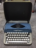 Máquina escribir antigua - foto