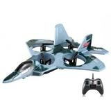 Avion dron de combate f22 predator - foto