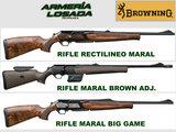 Rifles browning cerrojo maral - foto