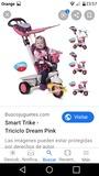 Se vende triciclo rosa 4 en 1 smartrike - foto
