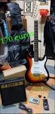 pack completo guitarra eléctrica - foto