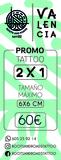2x1 tattoo - foto