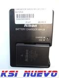 Cargador nikon mh-24 con 1 bateria - foto
