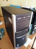 torre de ordenador pc intel 2 quad core - foto