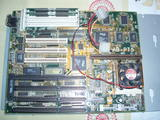 placa base ab-pt5 INTEL  antigua - foto