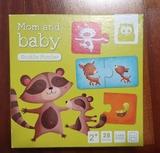 Puzzle educativo madres y crías +2 - foto