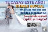 BAILE NUPCIAL BODA ENSAYO NOVIOS CLASES - foto