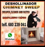Limpieza de chimeneas.desollinador - foto