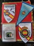 4 banderines tiro olímpico.1.años 70 - foto