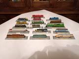 Del Prado 20x Locomotoras Escala N - foto
