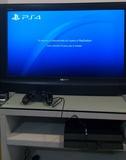 PS4 slim 500Gb de segunda funcionando - foto