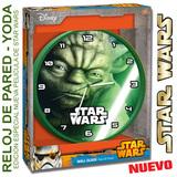 Reloj Pared Yoda Star Wars Caja Regalo - foto