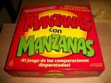 MANZANAS con MANZANAS (Juego de Mesa) - foto