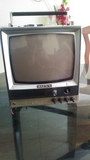 televisor sony solid state antiguo - foto