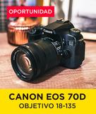 Pack Canon EOS 70D + Objetivo 18-135 - foto
