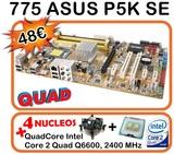 Combo 775 p5k se + quadcore q6600 4nucle - foto