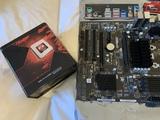 Asrock 970 EX3 2.0 + FX8350 + RAM GSKILL - foto