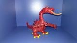 playmobil - dragón rojo - foto