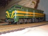 Locomotora diesel 1601 renfe ho lima - foto