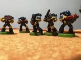Warhammer 40000 40k - Ejercito marines - foto