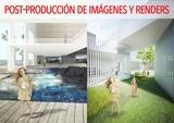 Post-producción de imágenes y renders - foto