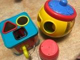 lote 3 juguetes infantiles - foto